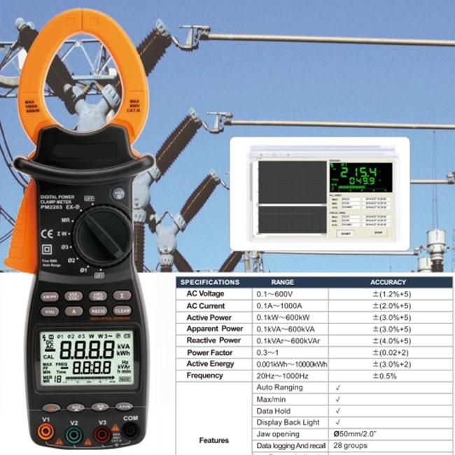 digital power clamp meter